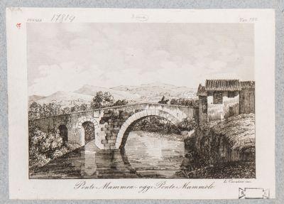 Ponte Mammolo, veduta di fianco