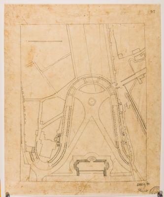 Piazza di San Giovanni in Laterano, progetto di sistemazione