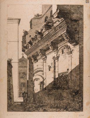 Casa dé Crescenzi, facciata su via del Ricovero