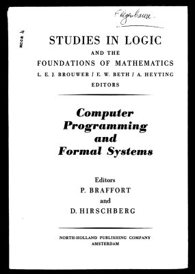 A Basis for a Mathematical Theory of Computation