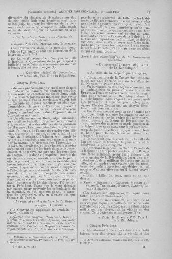 Tome 61 : Du 31 mars au 12 avril 1793 - page 33