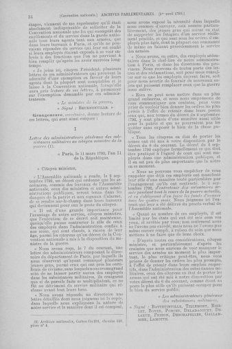 Tome 61 : Du 31 mars au 12 avril 1793 - page 34