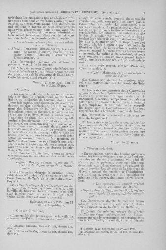 Tome 61 : Du 31 mars au 12 avril 1793 - page 37