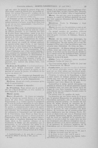 Tome 61 : Du 31 mars au 12 avril 1793 - page 39