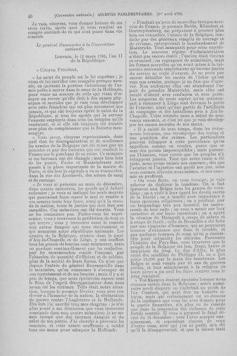 Tome 61 : Du 31 mars au 12 avril 1793 - page 40