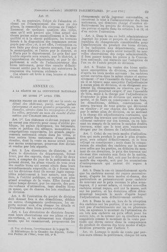 Tome 61 : Du 31 mars au 12 avril 1793 - page 69