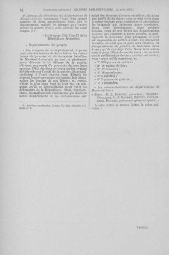 Tome 61 : Du 31 mars au 12 avril 1793 - page 72
