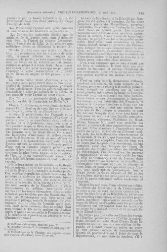 Tome 61 : Du 31 mars au 12 avril 1793 - page 115