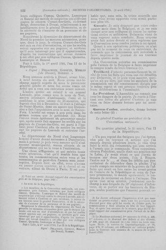 Tome 61 : Du 31 mars au 12 avril 1793 - page 122