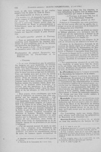 Tome 61 : Du 31 mars au 12 avril 1793 - page 134