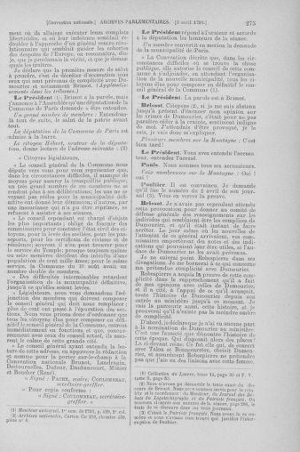Tome 61 : Du 31 mars au 12 avril 1793 - page 275