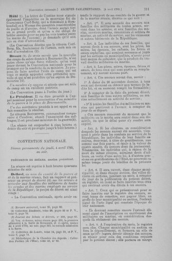Tome 61 : Du 31 mars au 12 avril 1793 - page 311