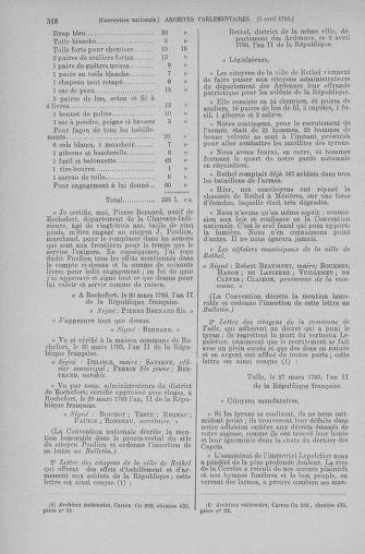 Tome 61 : Du 31 mars au 12 avril 1793 - page 318