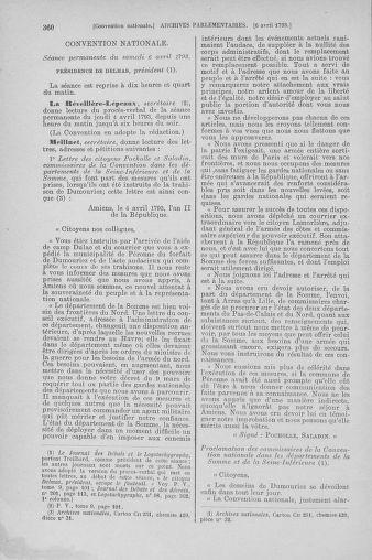 Tome 61 : Du 31 mars au 12 avril 1793 - page 360