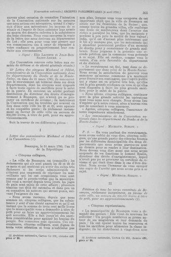 Tome 61 : Du 31 mars au 12 avril 1793 - page 365