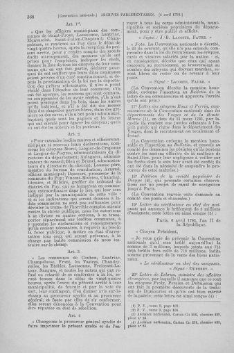 Tome 61 : Du 31 mars au 12 avril 1793 - page 368