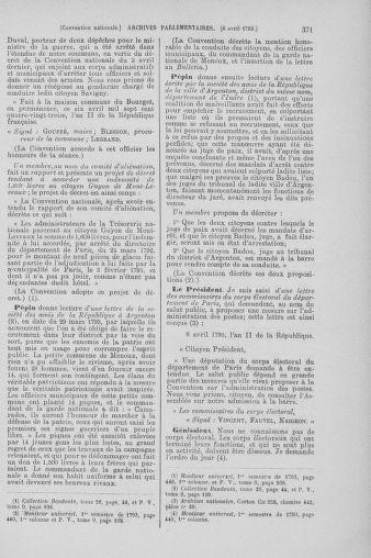 Tome 61 : Du 31 mars au 12 avril 1793 - page 371