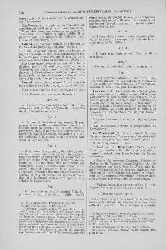 Tome 61 : Du 31 mars au 12 avril 1793 - page 378