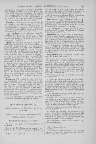 Tome 61 : Du 31 mars au 12 avril 1793 - page 391
