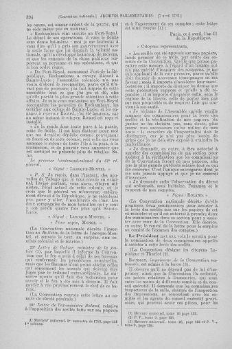 Tome 61 : Du 31 mars au 12 avril 1793 - page 394