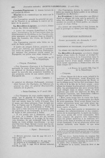 Tome 61 : Du 31 mars au 12 avril 1793 - page 400