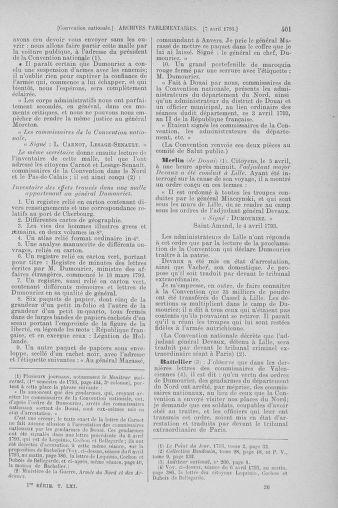 Tome 61 : Du 31 mars au 12 avril 1793 - page 401