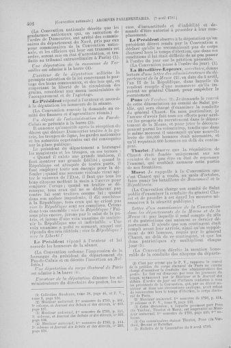 Tome 61 : Du 31 mars au 12 avril 1793 - page 402