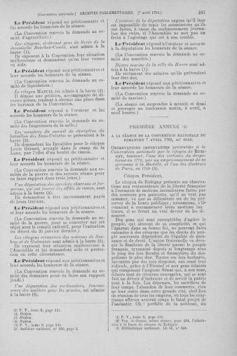 Tome 61 : Du 31 mars au 12 avril 1793 - page 405