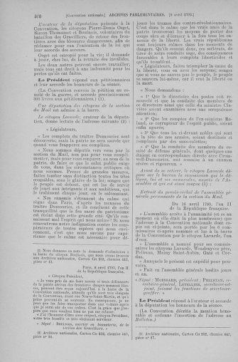 Tome 61 : Du 31 mars au 12 avril 1793 - page 460