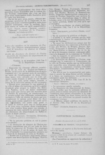 Tome 61 : Du 31 mars au 12 avril 1793 - page 507