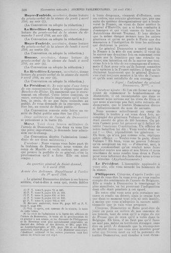 Tome 61 : Du 31 mars au 12 avril 1793 - page 508