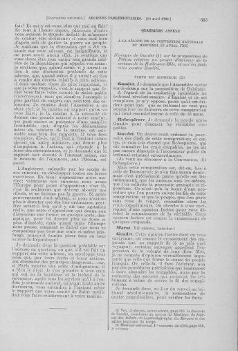 Tome 61 : Du 31 mars au 12 avril 1793 - page 563