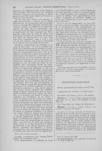 Tome 61 : Du 31 mars au 12 avril 1793 - page 584