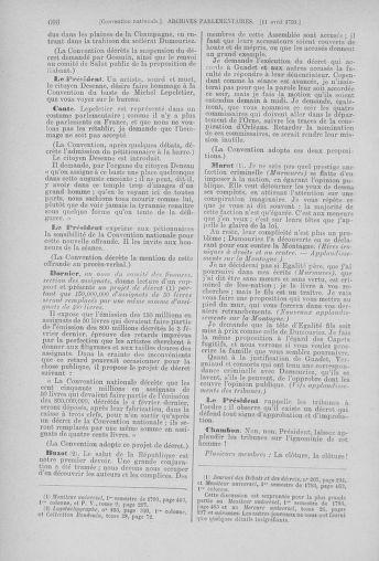 Tome 61 : Du 31 mars au 12 avril 1793 - page 606