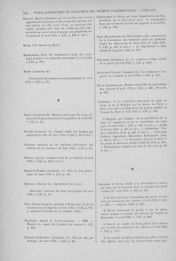 Tome 61 : Du 31 mars au 12 avril 1793 - page 764