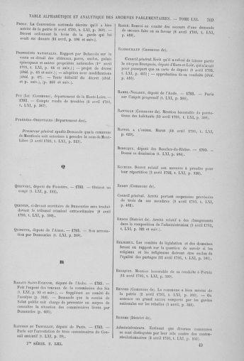 Tome 61 : Du 31 mars au 12 avril 1793 - page 769