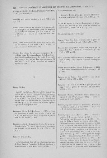 Tome 61 : Du 31 mars au 12 avril 1793 - page 774