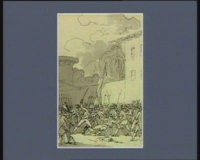 [Evénement du cinq mars 1791] [dessin]