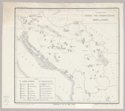 Karta Yugoslavia.Yugoslavia Provinces And Banovinas In Searchworks Catalog