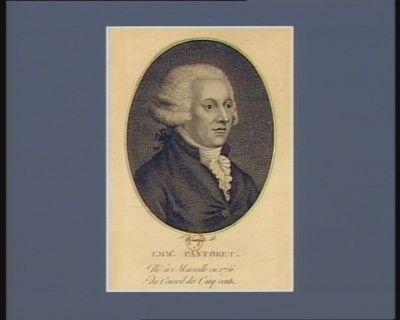 Emm.l Pastoret né à Marseille en 1756, du conseil des Cinq Cents : [estampe]