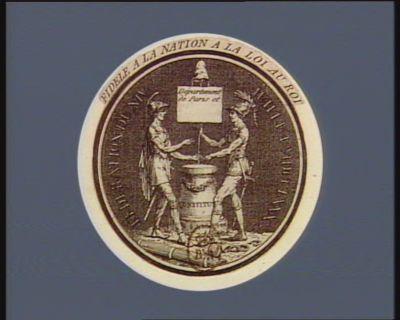 Fidelite a la nation a la loi au Roi federation du XIV juillet MDCCLXXX [sic] : [estampe]