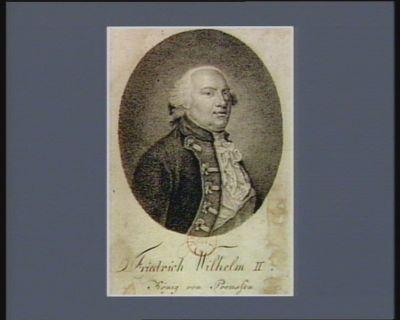 Friedrich Wilhelm II König von Preussen [estampe]