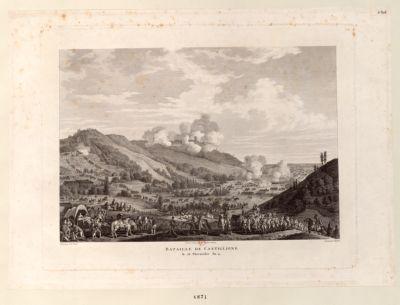 Bataille de Castiglione le 16 [i.e. 18] thermidor an 4 [estampe]
