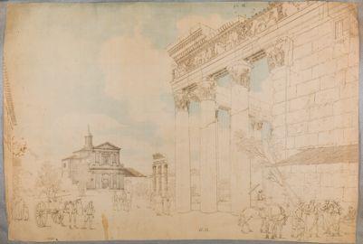 Tempio di Antonino e Faustina, S. Maria Liberatrice