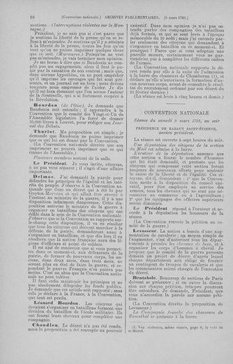 Tome 60 : Du 9 au 30 mars 1793 - page 16