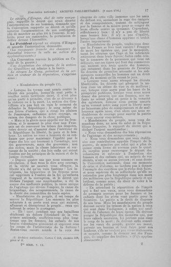 Tome 60 : Du 9 au 30 mars 1793 - page 17