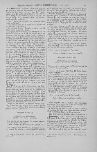 Tome 60 : Du 9 au 30 mars 1793 - page 19