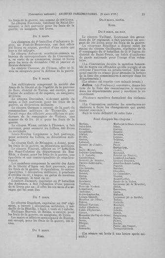 Tome 60 : Du 9 au 30 mars 1793 - page 25