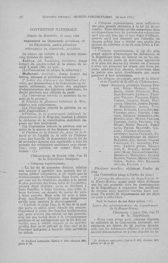 Tome 60 : Du 9 au 30 mars 1793 - page 26