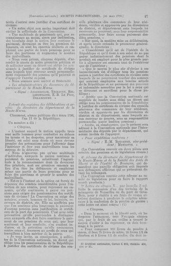 Tome 60 : Du 9 au 30 mars 1793 - page 27